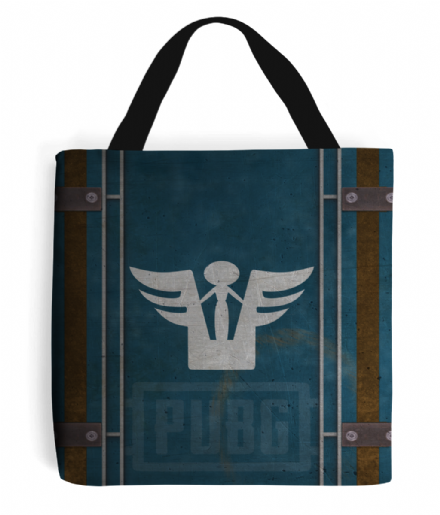PlayerUnknowns Battlergrounds PUBG Desperado Crate Tote Bag Handbag